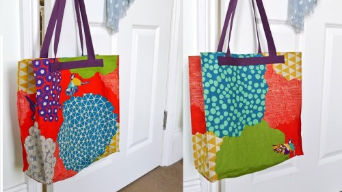 Beautiful Tote Bag Tutorial