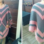 Crochet Poncho With a Pocket