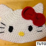 Crochet Hello Kitty Beanie