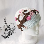 Art Inspired Snarky Crochet Hat