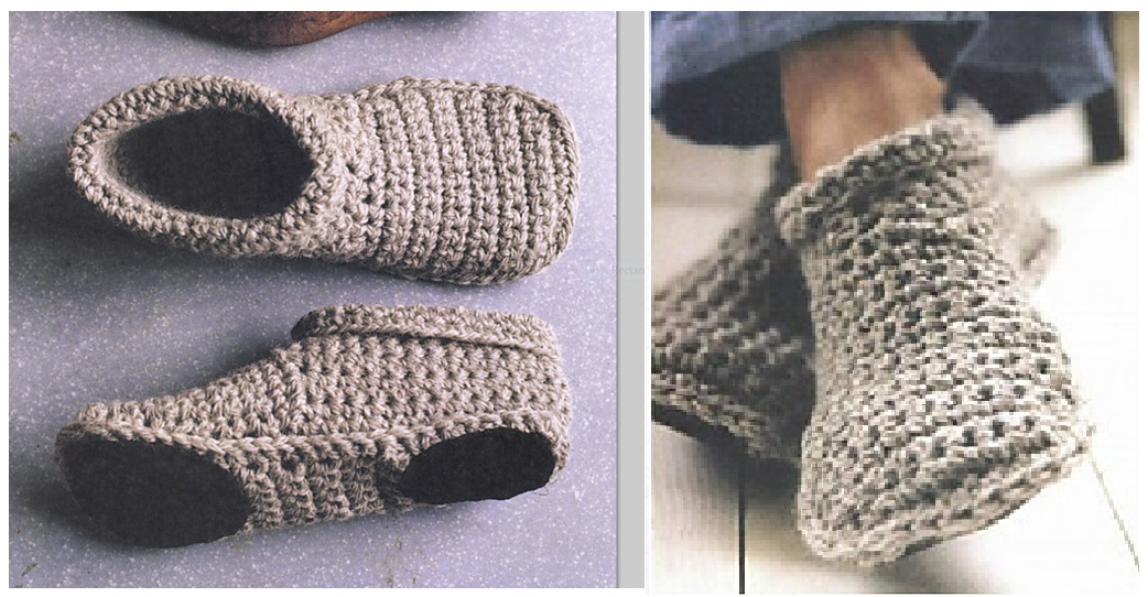 Crochet Slipper Boots Pretty Ideas