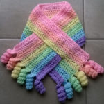 Curly Shirley Scarf