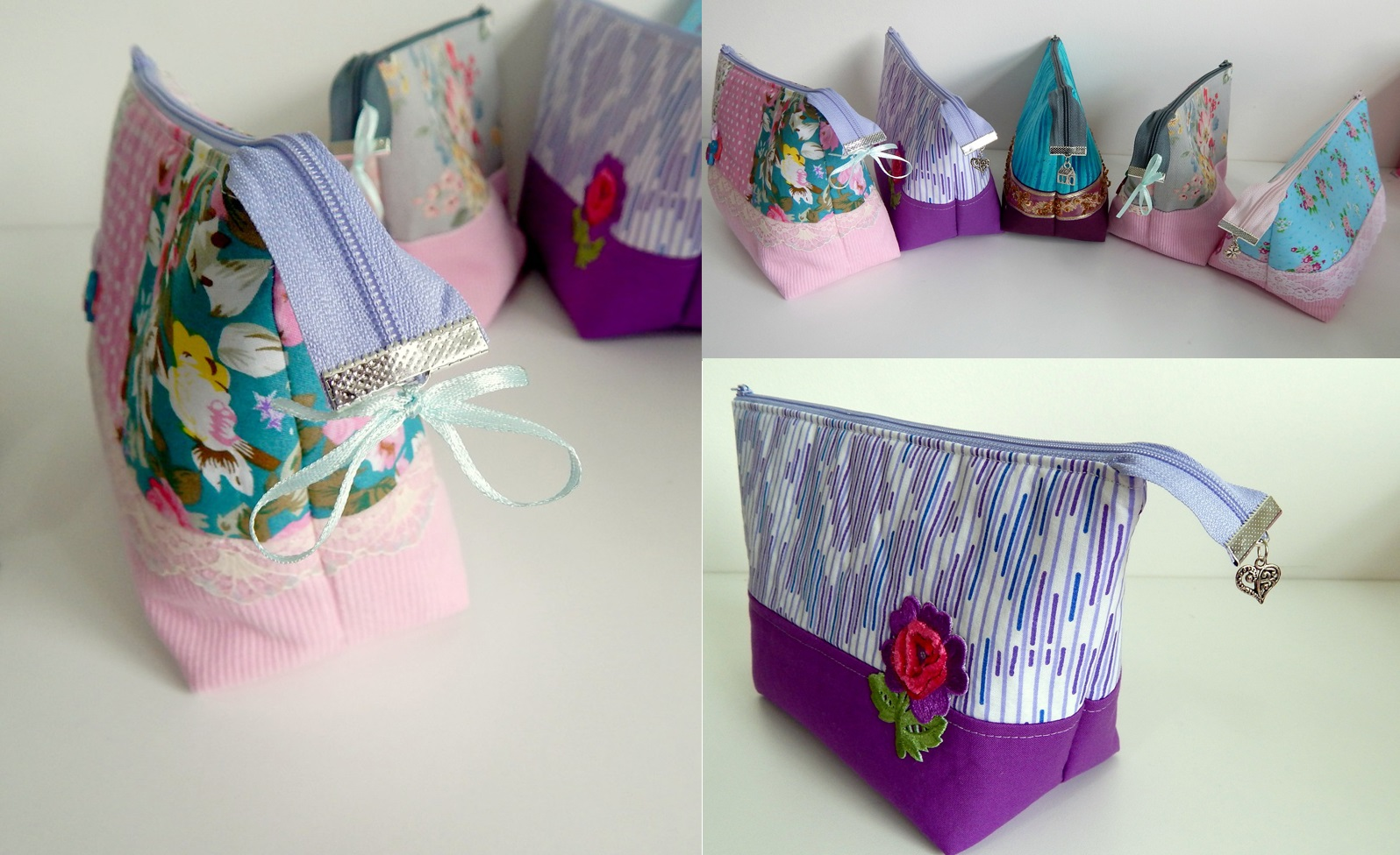 Beautiful Zip Bag Tutorial