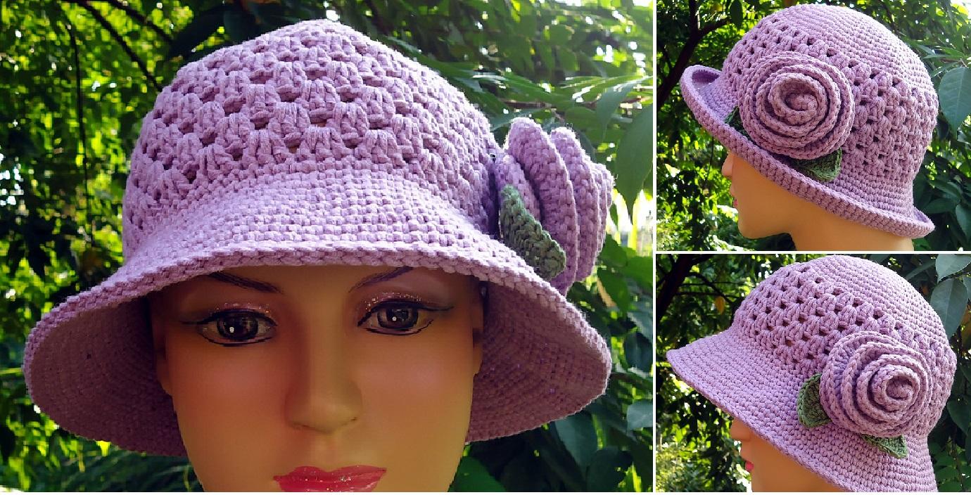 Granny Brimmed Hat