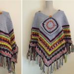 Blanket Poncho Crochet Pattern