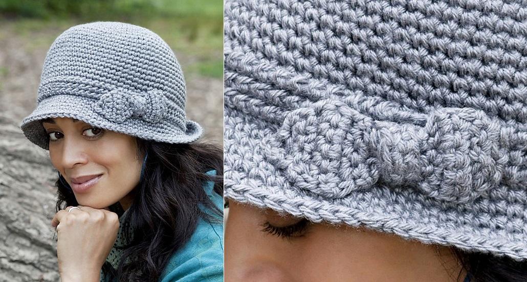 Crochet Elegant Hat