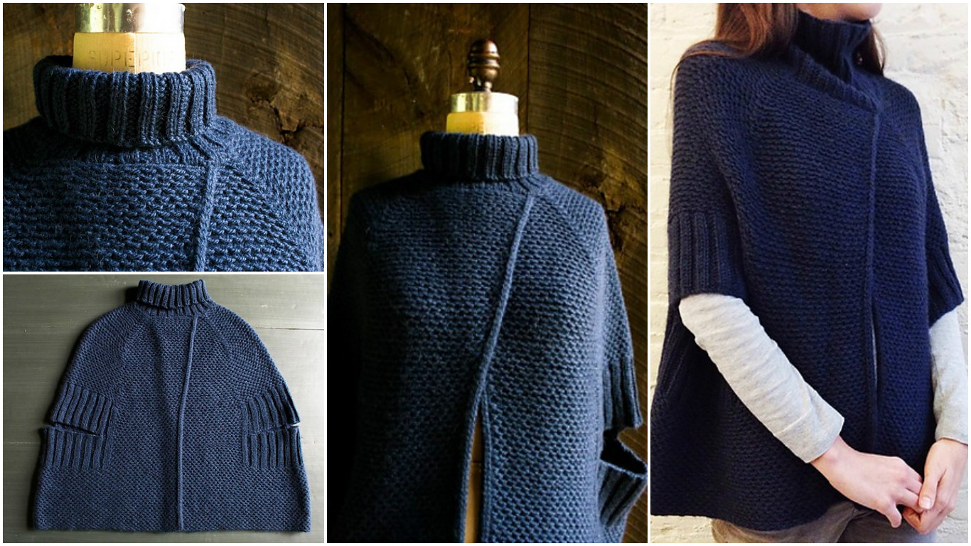 Knit City Cape
