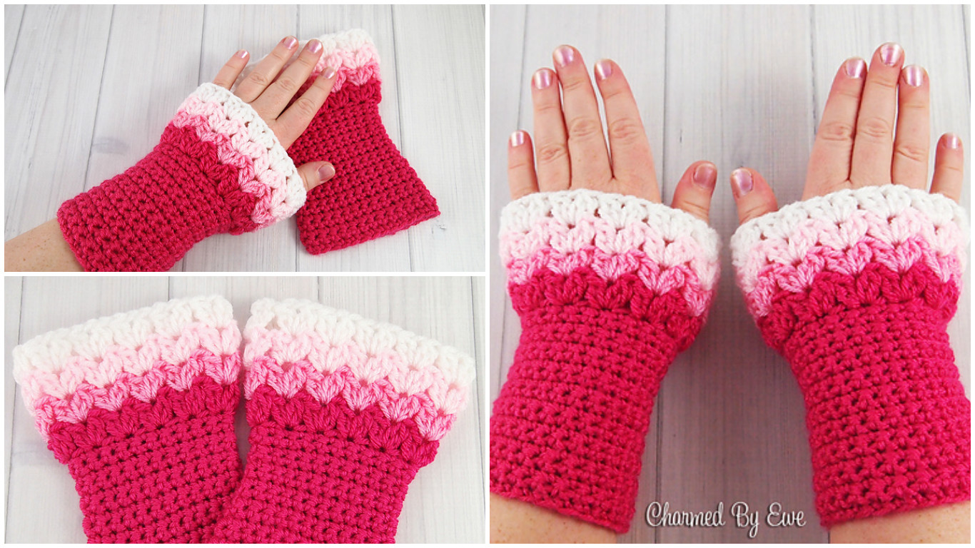 Sweatheart Wrist Warmers