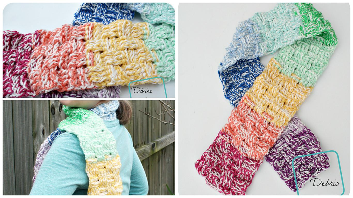 Crochet Becca Scarf - Pretty Ideas