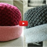Knit Downtown Hat | Pattern+Video