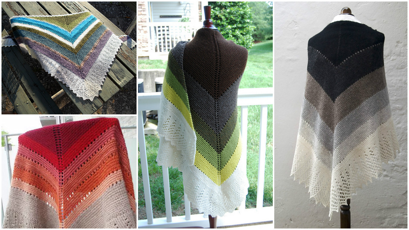 Stash-Buster Shawl