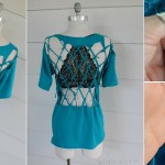 Lattice Back T-shirt Tutorial