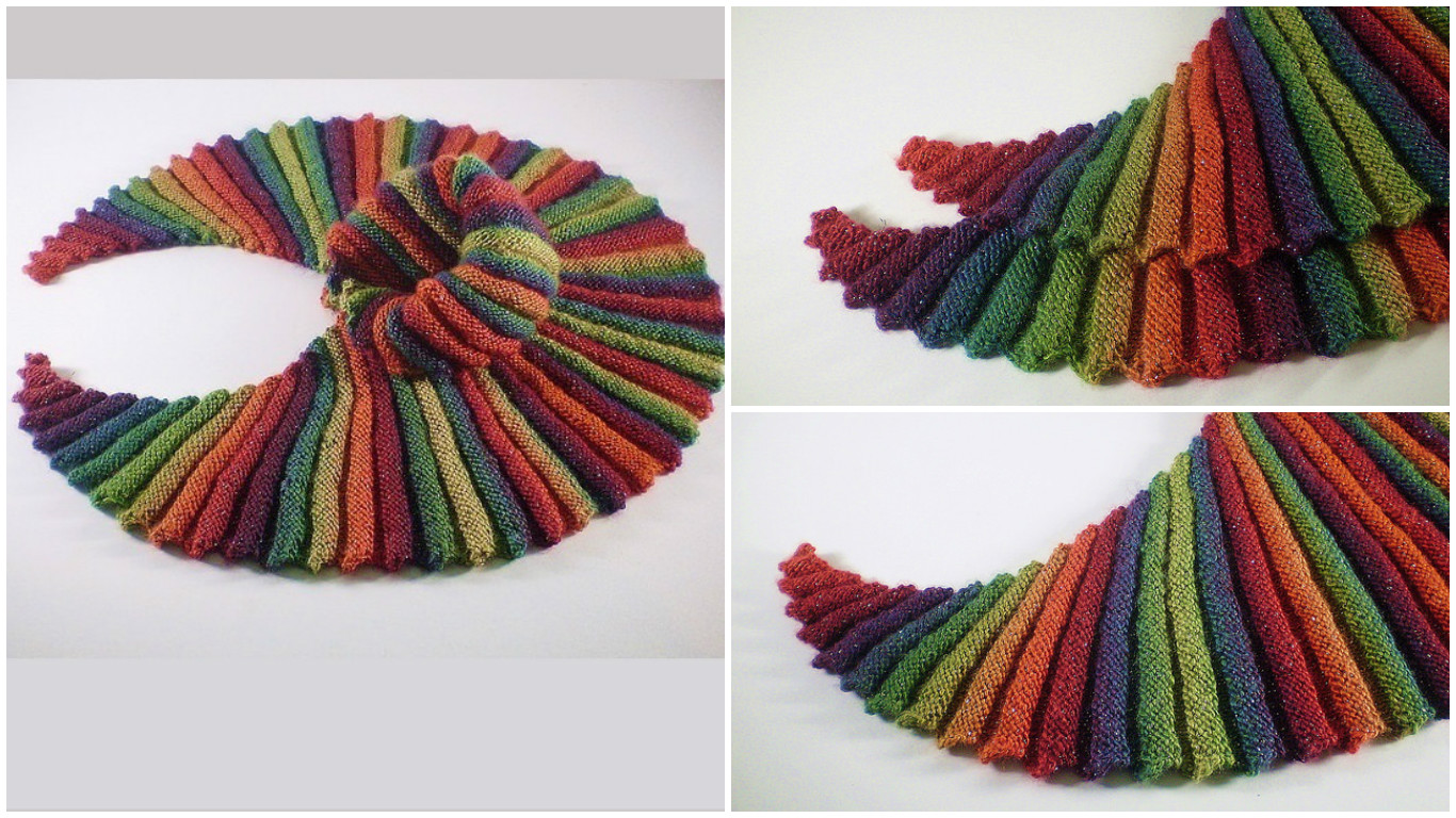 Knit Lucky Shawl