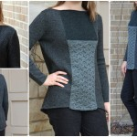 Knit Dappled Silhouette