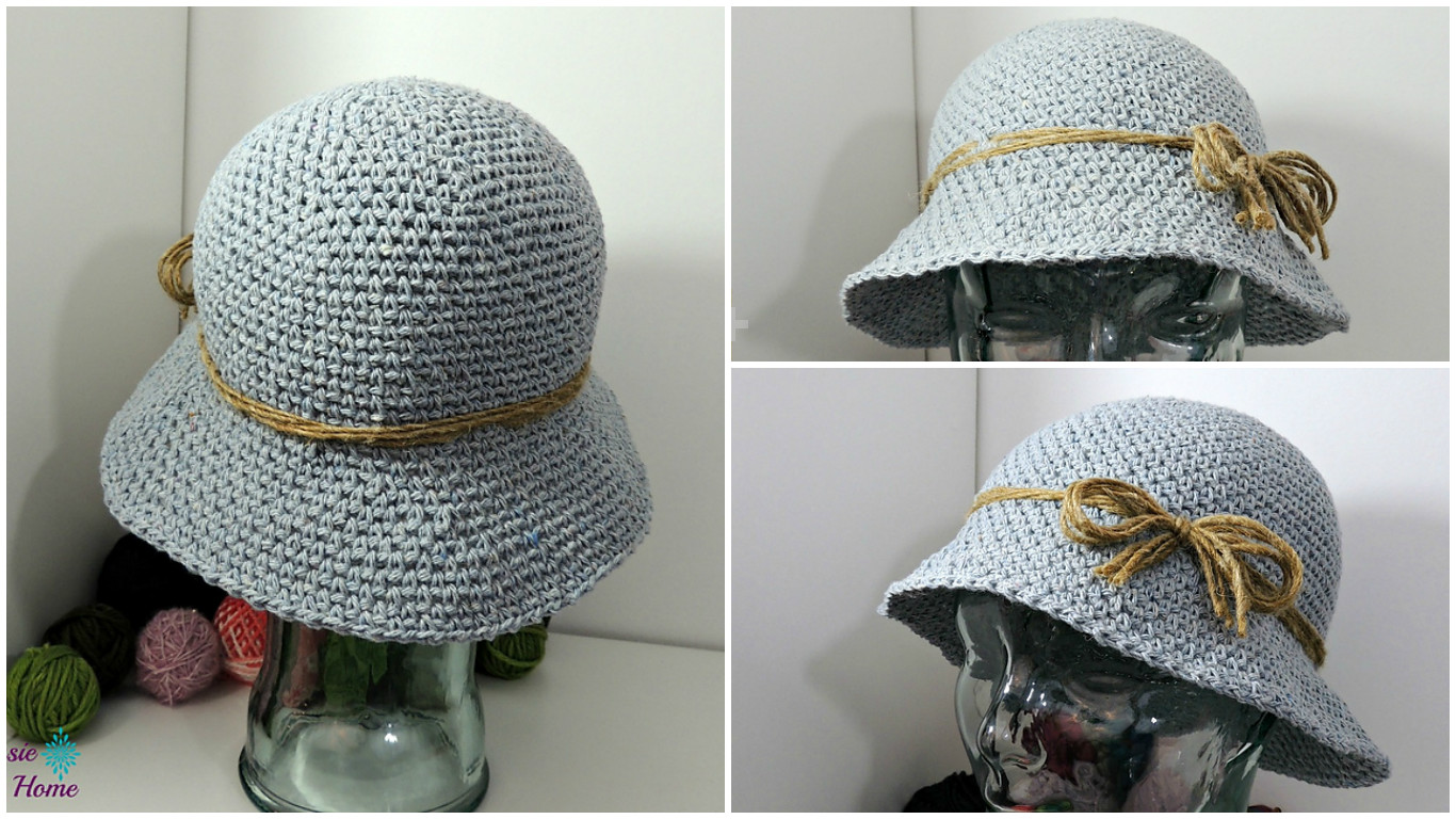 1927a1fea Crochet Bucket Hat - Pretty Ideas
