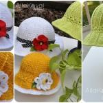 Crochet Garden Hat