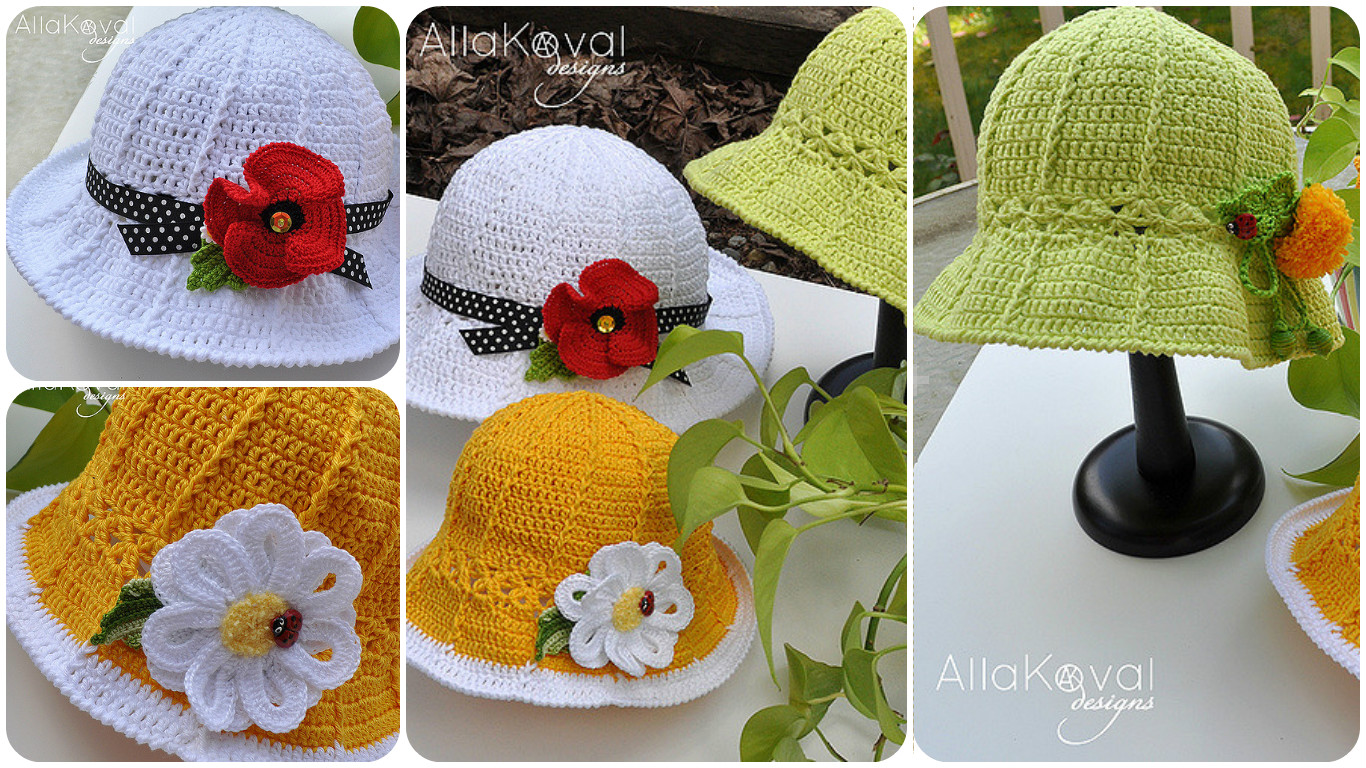 Crochet Garden Hat PRETTY IDEAS