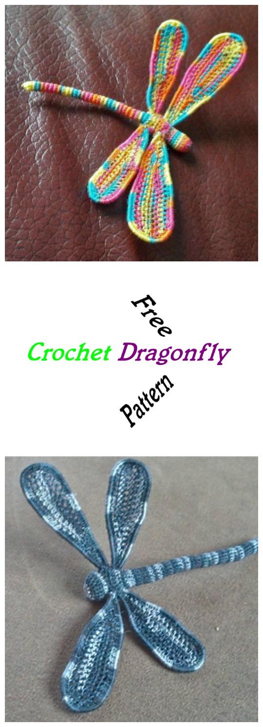 Crochet Dragonfly Pretty Ideas