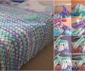 Celtic Cable Stitch Blanket's Video Tutorial
