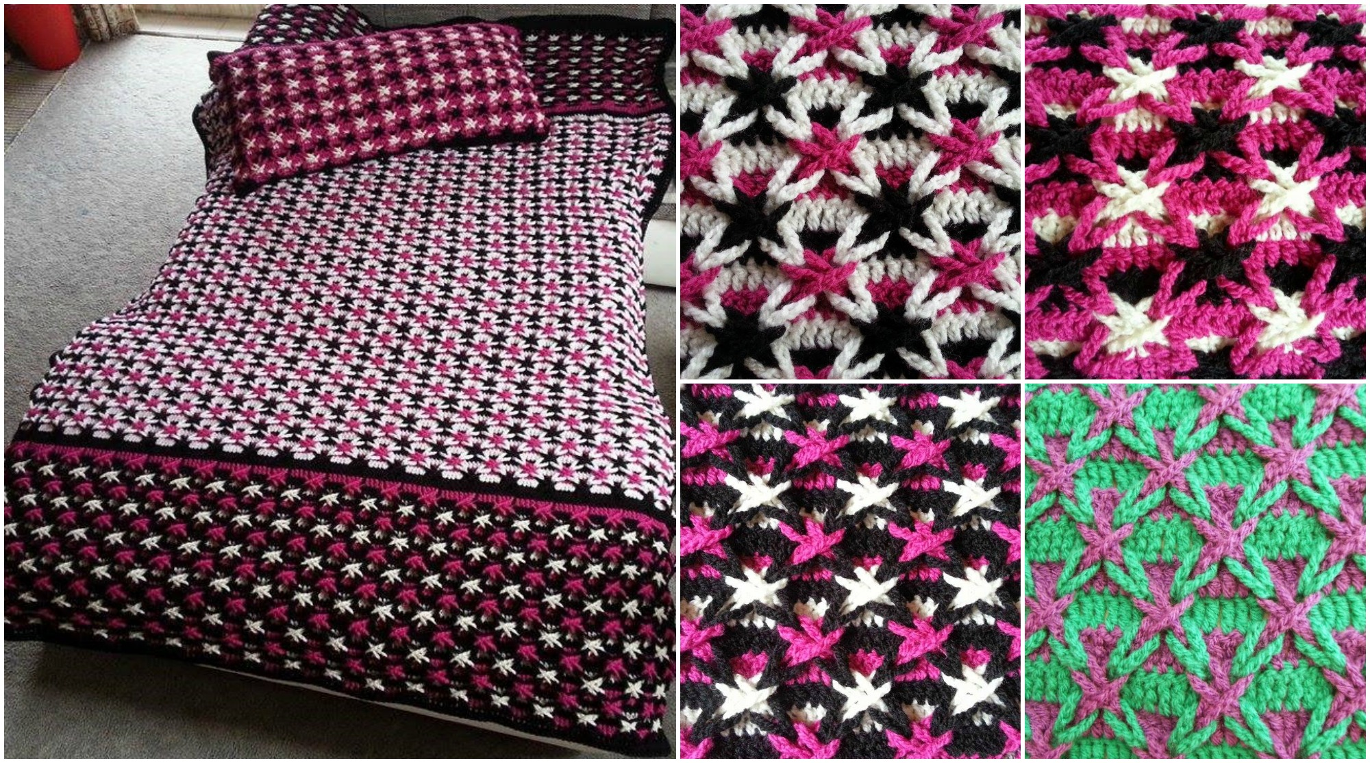 Polish Star Stitch Blanket