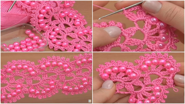 How to Crochet Beaded Tape – Video