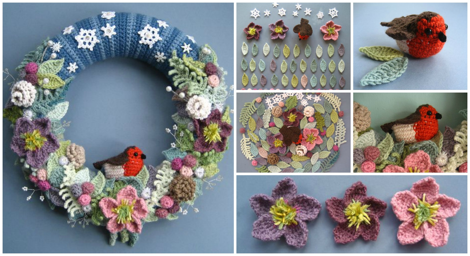 Crochet Beautiful Wreath