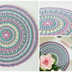 Crochet Springtime Magic Mandala