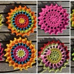 Crochet Pretty Coasters