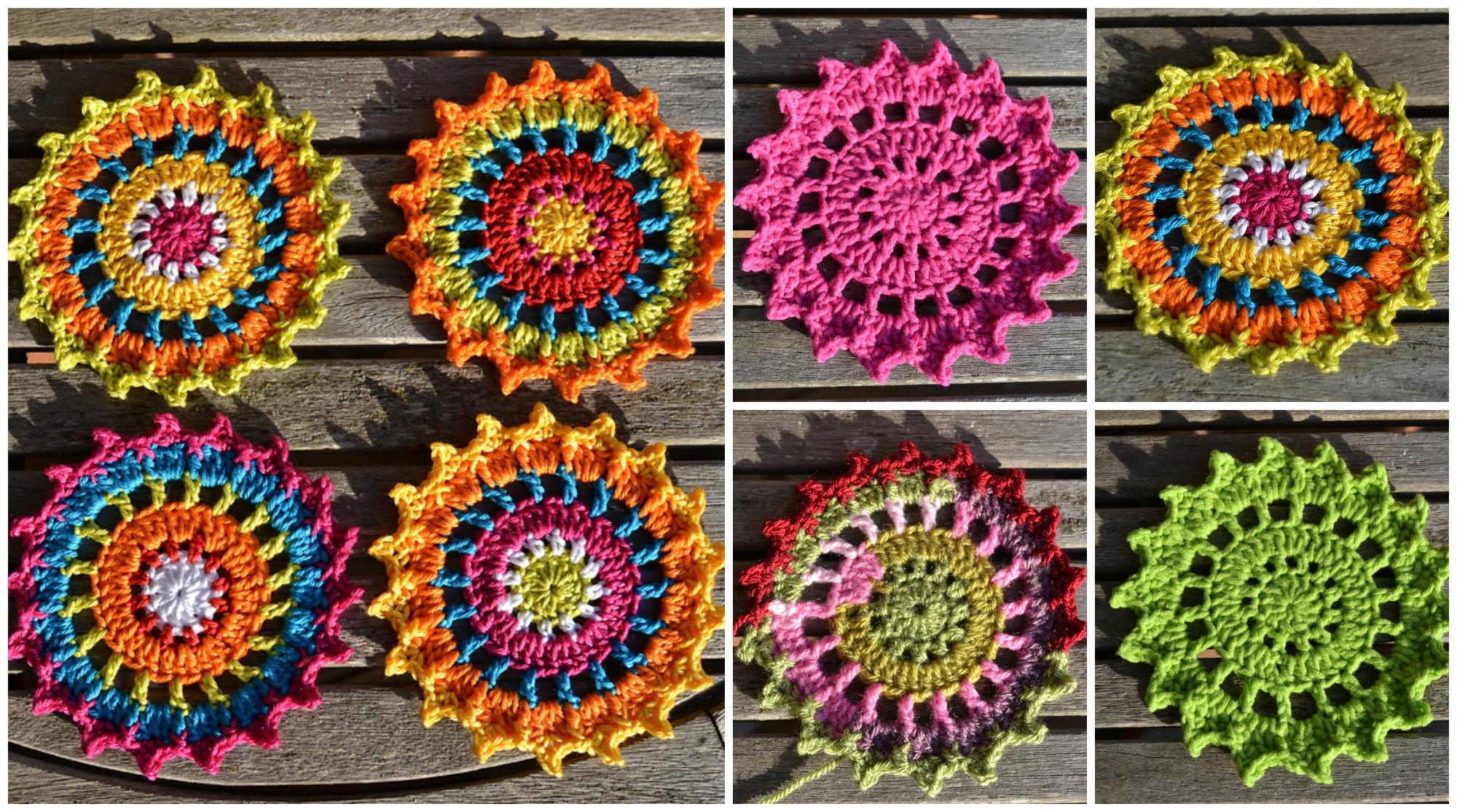 Crochet Pretty Coasters