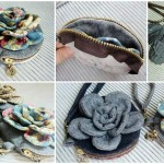 Sew Vintage Flower Purse Tutorial