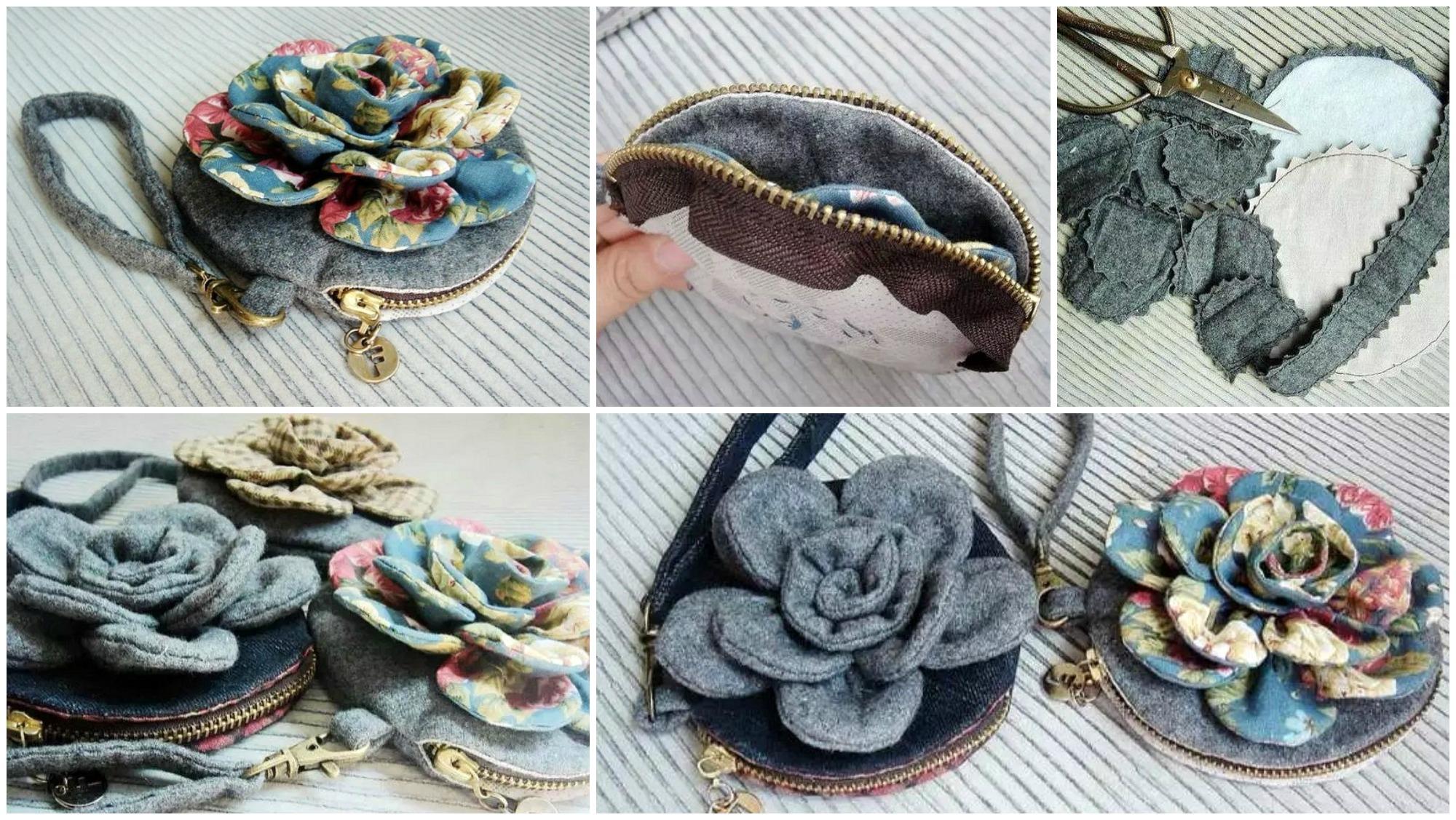 Sew Vintage Flower Purse Tutorial