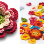 Crochet Colorful Flora