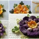 Crochet Flower Charisma – Flor Carisma