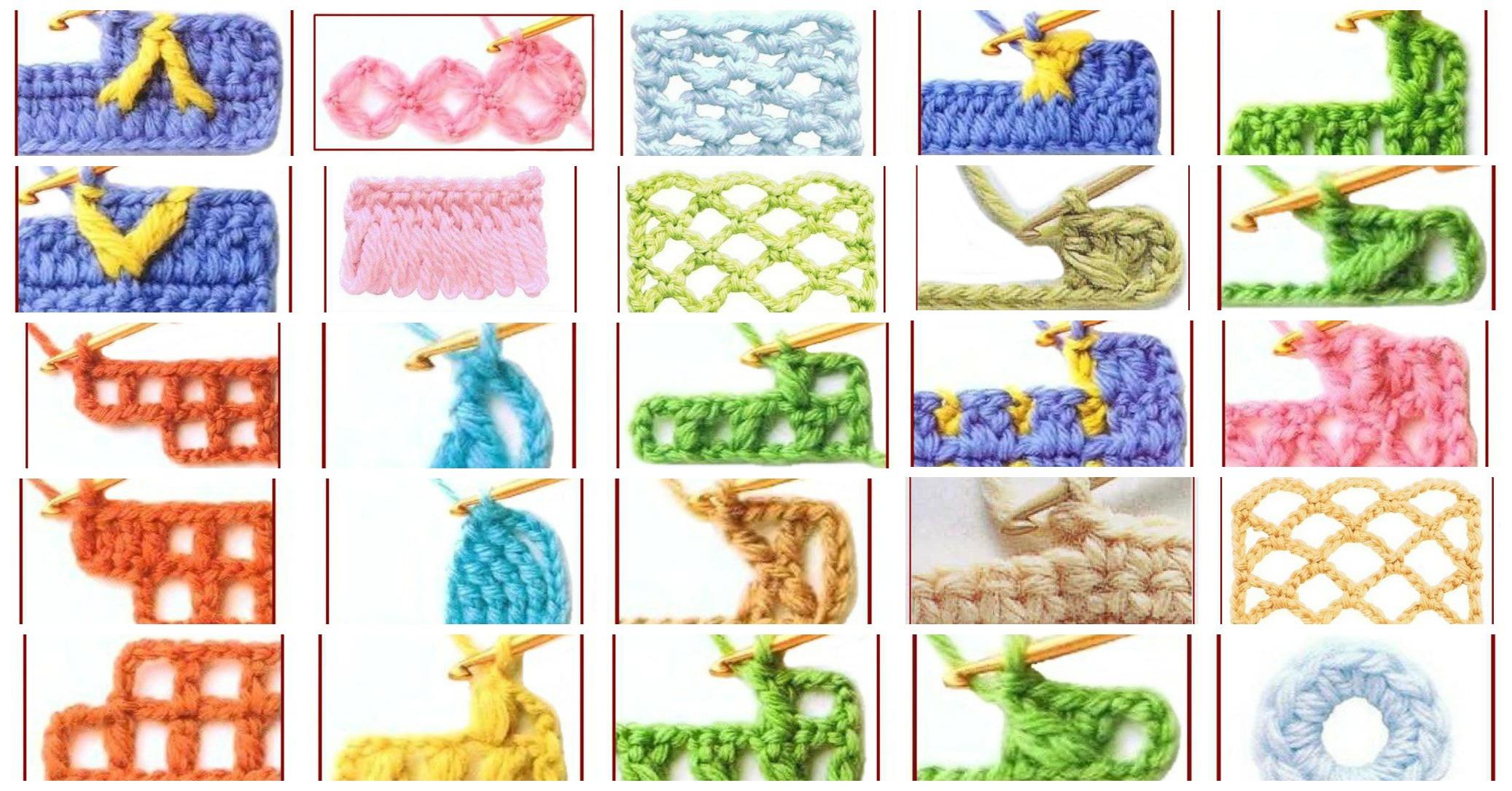 100 Symbols For Stitches Guide To Crochet Pretty Ideas