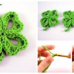 Crochet Lucky Clover