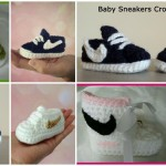 Crochet Beautiful Nike Booties – Video