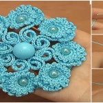 Crochet Beautiful Petal Flower