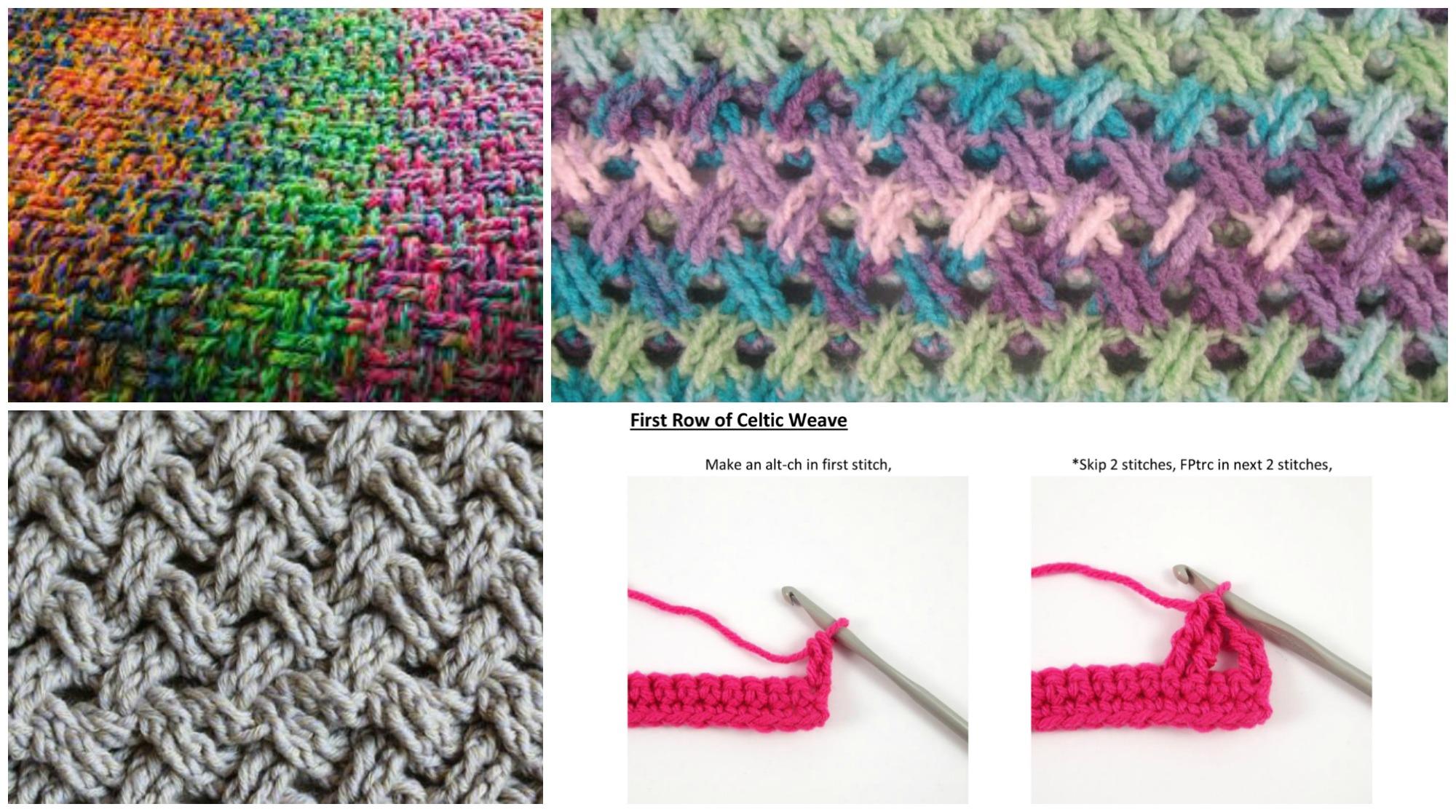 Celtic Weave Stitch Tutorial Pretty Ideas