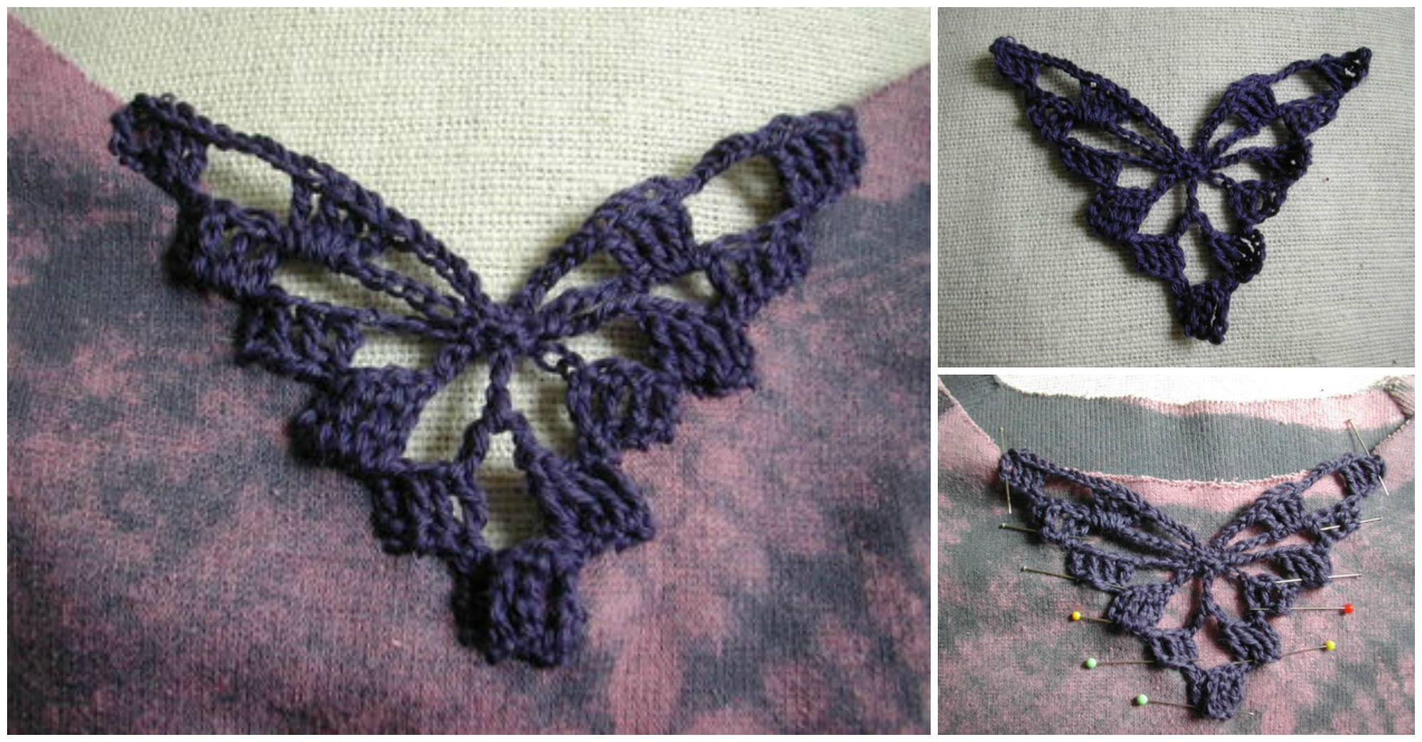 How To Embellish With Crochet Inserts