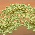 Beaded Crochet Lace Tape