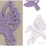 Songbird Crochet Motif