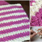 Crochet Marshmallow Baby Blanket – Video Tutorial