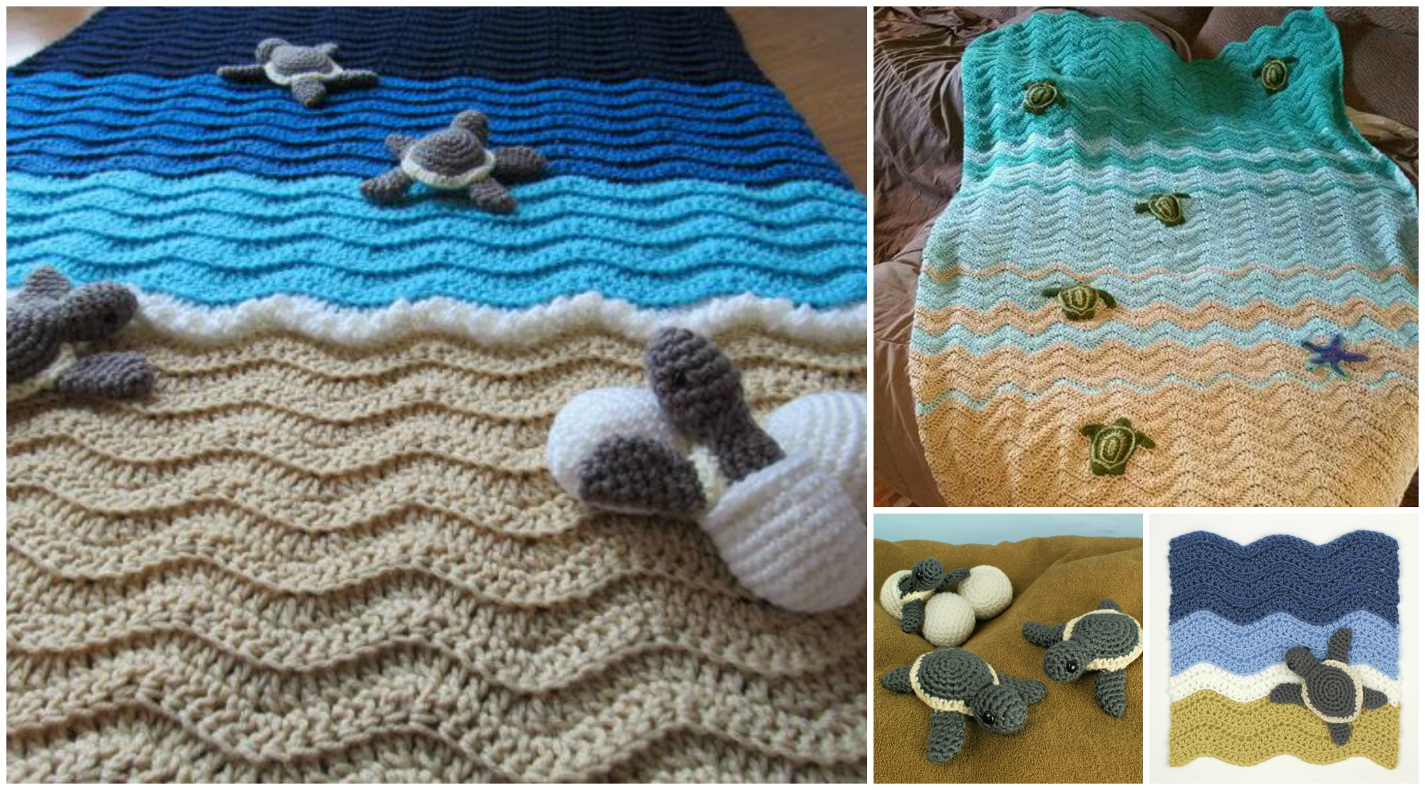 Crochet Turtle Beach Blanket
