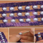 EASY to CROCHET Tape With Beads