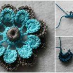 Crochet Easy But Beautiful Flower