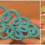 How To Crochet Tall Stitch Leaf