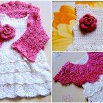 Crochet Lovely Baby Dress