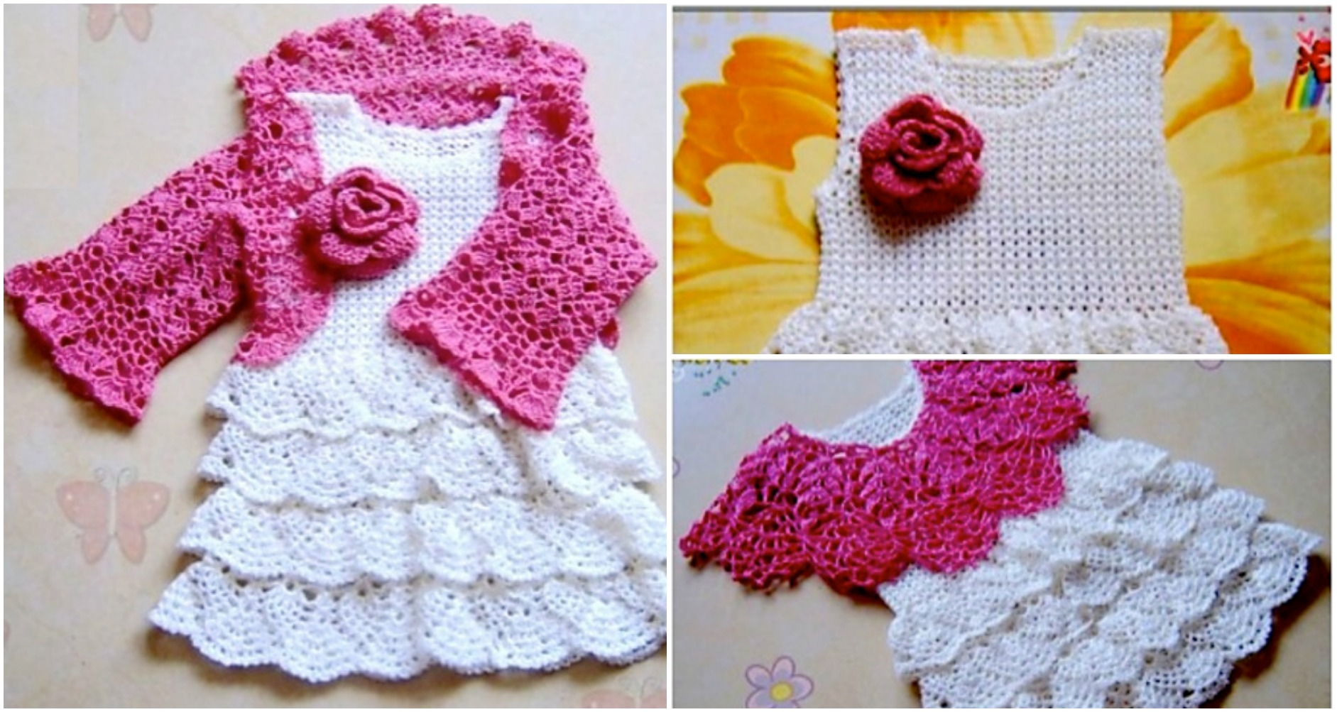 Crochet Lovely Baby Dress