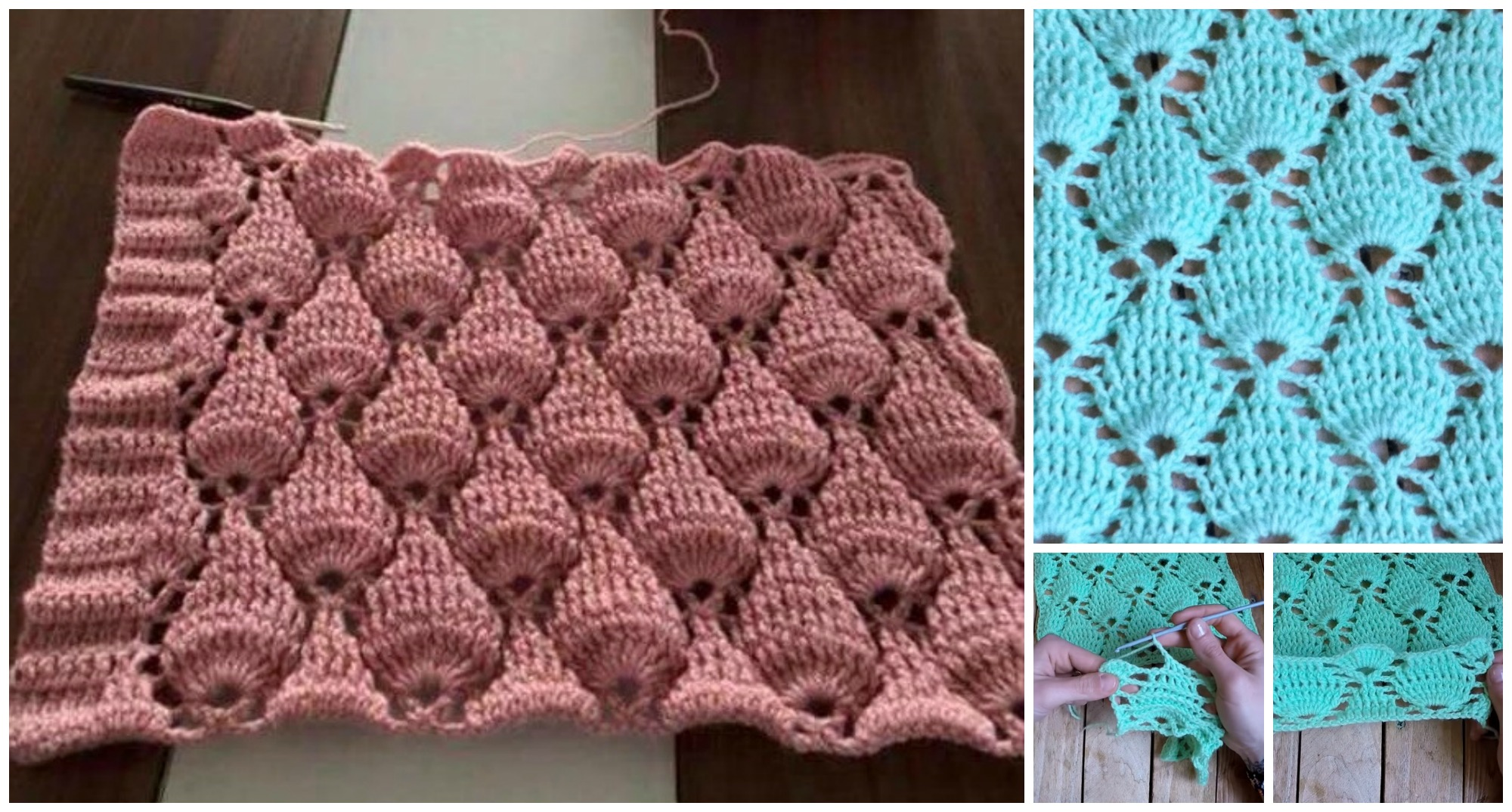 How To Crochet Fantasy Stitch - PRETTY IDEAS