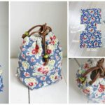 Reversible Drawstring Bag Tutorial